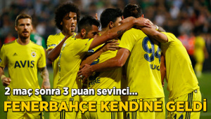 Fenerbahçe'ye 3 puan morali