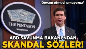ABD Savunma Bakanı'ndan skandal sözler!