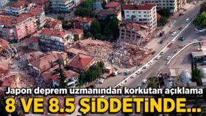 Japon deprem uzmanından korkutan Türkiye açıklaması: 8 veya 8.5...