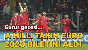 A Milli Takım EURO 2020 biletini aldı