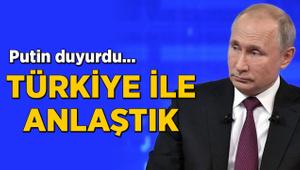 """""""Türkiye ile Suriye'deki ihlallere müdahale etmek konusunda anlaştık"""""""
