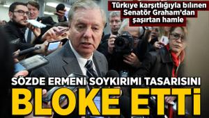 Senatör Graham sözde Ermeni soykırımı tasarısının oylanmasını reddetti