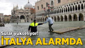 Sular yükseliyor! İtalya alarmda