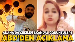 Türkiye'de çekilen skandal görüntülere ABD'den açıklama