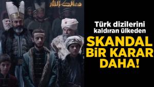 Türk dizilerini kaldıran BAE'den skandal bir karar daha