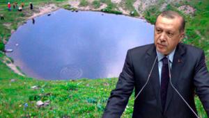 Cumhurbaşkanı Erdoğan'dan Dipsiz Göl tepkisi: Bir daha izin verilmesin
