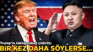 Kim Jong, Trump'ın sözlerine zehir zemberek yanıt verdi