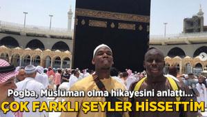 Paul Pogba açıkladı! Müslüman olmak...