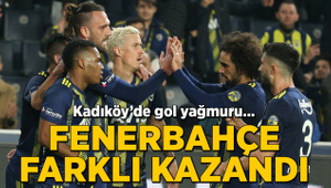 Kadıköy'de gol yağmuru... Fenerbahçe farklı kazandı