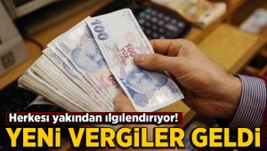 Yeni vergi düzenlemesine ilişkin kanun Resmi Gazete'de yayımlandı