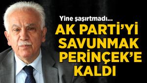 AK Parti'yi savunmak Doğu Perinçek'e kaldı