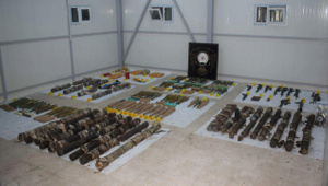 Diyarbakır'da PKK'nın patlayıcı deposu bulundu