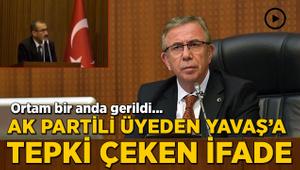 AK Partili meclis üyesinden Mansur Yavaş'a tepki çeken ifade