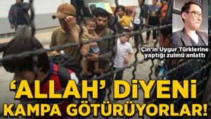 Uygur Türklerinin Çin'de yaşadığı zulmü gözyaşlarıyla anlattı