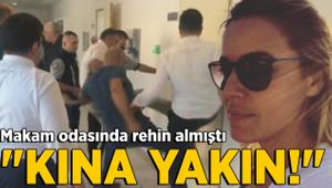 Gemlik Belediye Başkan Yardımcısını rehin almıştı: Kına yakın!