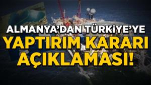 Almanya'dan Türkiye'ye yaptırım kararı açıklaması!