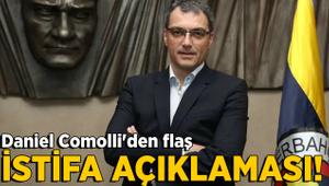 Damien Comolli'den flaş istifa açıklaması