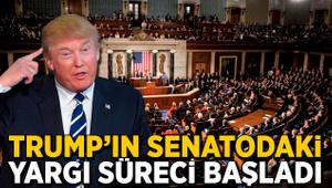 Trump'ın Senato'daki yargı süreci başladı