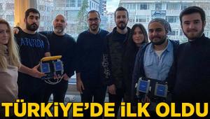 Türkiye'de ilk oldu!