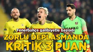 Fenerbahçe'den Gaziantep'te kritik galibiyet