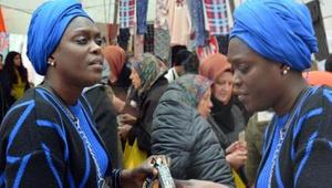 Avcılar'ın Senegalli tek kadın pazarcısıyı gören şaşkına döndü!