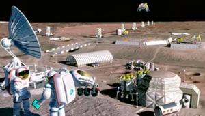 Ay tozundan oksijen üreten sistem geliştiriliyor