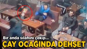 Bursa'da çay ocağında silahlı saldırı!