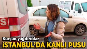 Ataşehir'de kanlı pusu: 1 ağır yaralı