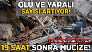 6,8'lik depremde Elazığ ve Malatya'da ölü sayısı 22'ye yükseldi