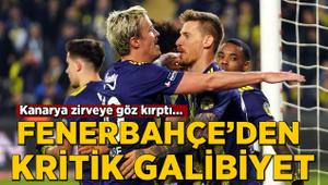 Fenerbahçe'den görkemli galibiyet