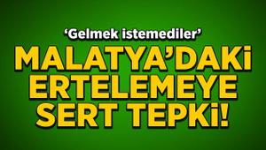 Yeni Malatyaspor, Trabzonspor maçının ertelenmesine isyan etti!