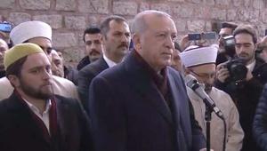 Cumhurbaşkanı Erdoğan, Ahmet Vanlıoğlu'nun cenazesine katıldı