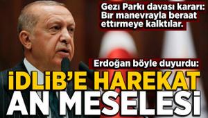 Erdoğan: İdlib'e harekat an meselesi