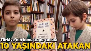 Türkiye'nin konuştuğu çocuk: 10 yaşındaki Atakan!