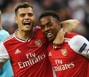 Arsenal'ın yedekleri Frankfurt'u fethetti!