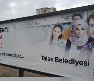 Talas Belediye Başkanı'ndan 'Başörtülü Selena Gomez' açıklaması