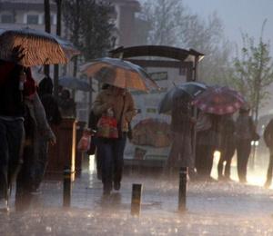 Meteoroloji'den 5 il için uyarı: Sağanak geliyor