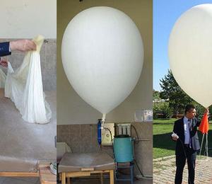Her gün aynı saatte bu balonu uçuruyorlar!
