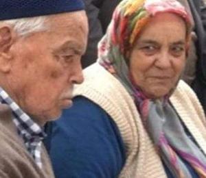 Yaşlı çift sobadan sızan gazdan zehirlenerek öldü!