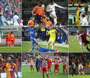 Süper Lig toplu sonuçları ve gelecek haftanın programı