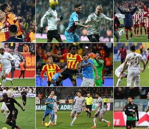 Süper Lig'de haftanın toplu sonuçları ve son puan durumu