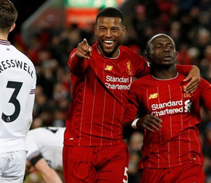 Liverpool rekora koşuyor