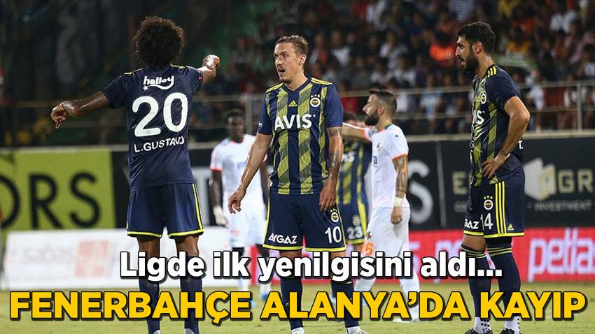 Fenerbahçe Alanya'da kayıp