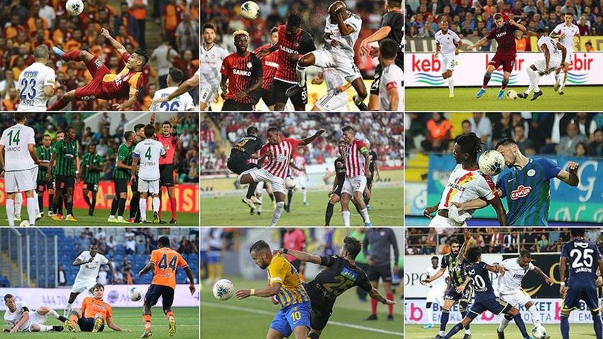 Süper Lig'de toplu sonuçlar, haftanın programı ve puan durumu