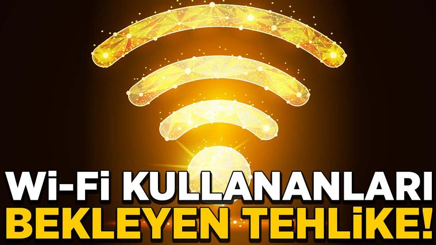 Ücretsiz Wi-fi kullananları bekleyen tehlike!