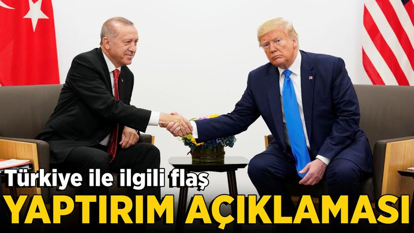 Reuters: ABD Türkiye'ye yaptırım uygulamayacak