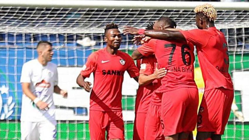 Çaykur Rizespor - Gazişehir Gaziantep maç sonucu: 1-2