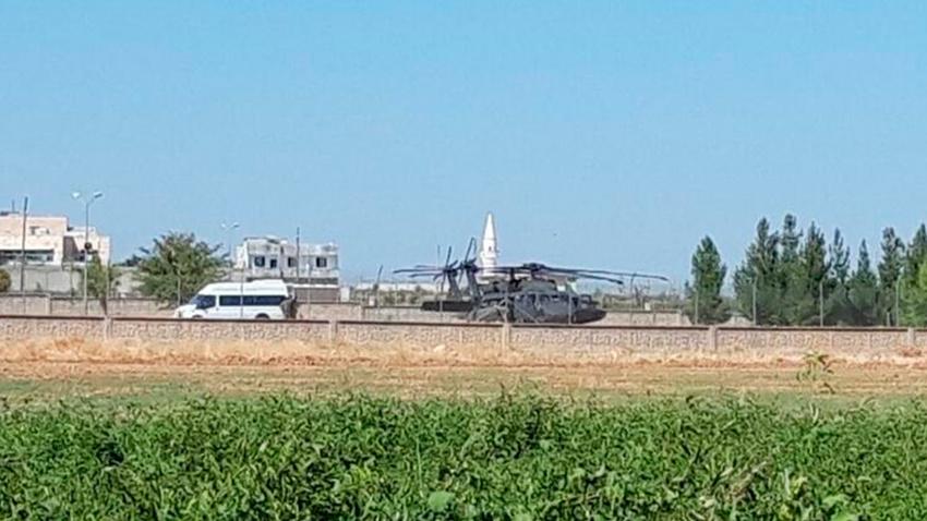 Akçakale'de hareketlilik! ABD'ye ait 2 helikopter geldi