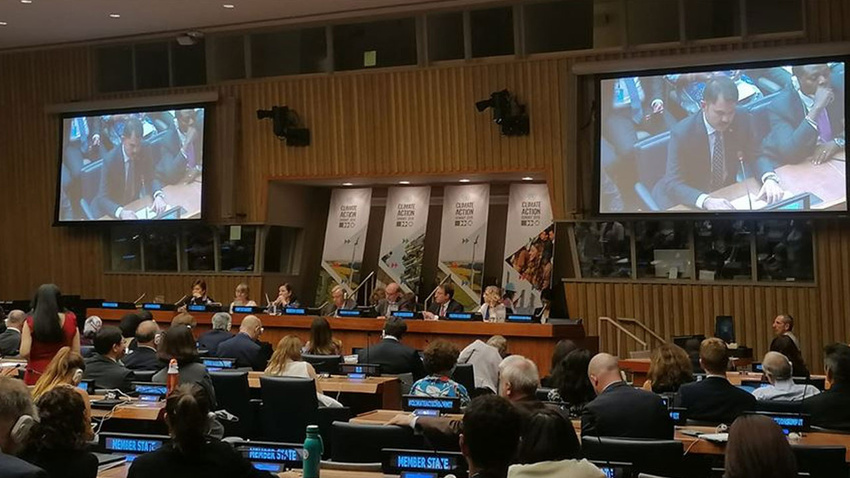 Bakan Kurum'dan Guterres'e 'iklim' sunumu
