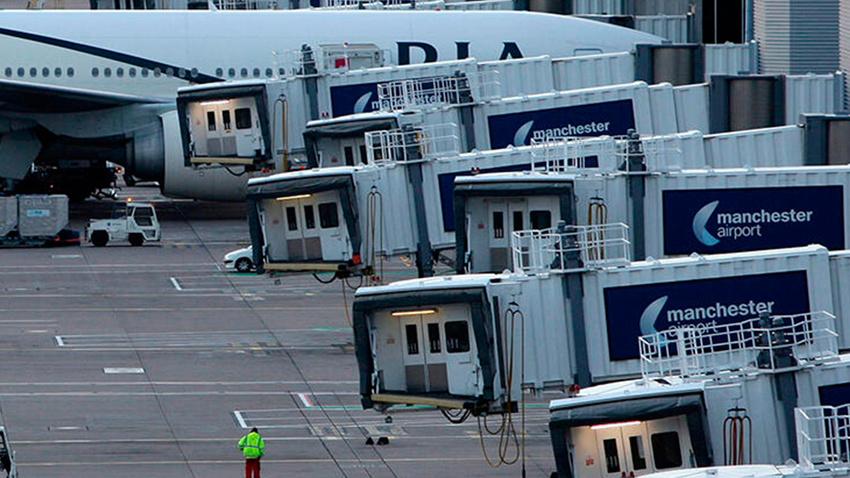 Manchester Havalimanı'nda bomba alarmı